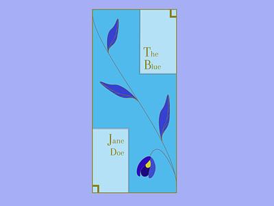 E-book cover floral blue cover coverdesign bookcover book bookdesgin branding pastel illustration dailydesign quickdesign design
