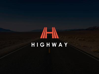 Highway Logo logo idea lettermark h logo letter h logo drive traffic road freeway highway illustration vector brand identity modern logo design branding logoinspirations logo