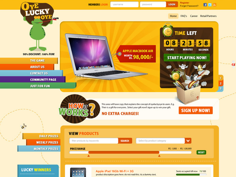 Freebie Auction Website Template Free Psd By Psd Freebies