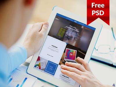 Freebie: Personal Portfolio Template Free PSD Graphics
