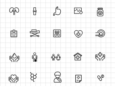 Medical And Science Outline Icon Set Free PSD outline icons medical iconset science iconset icon set icon freebie freebie outline iconset psd icon psd free psd free icon set free icons