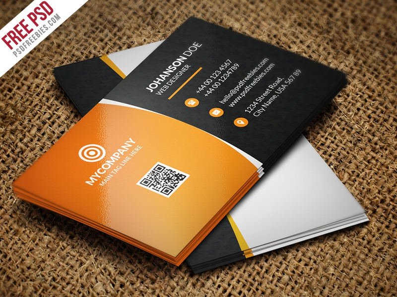 Freebie corporate business card bundle free psd by psd freebies corporate business card bundle free psd d flashek