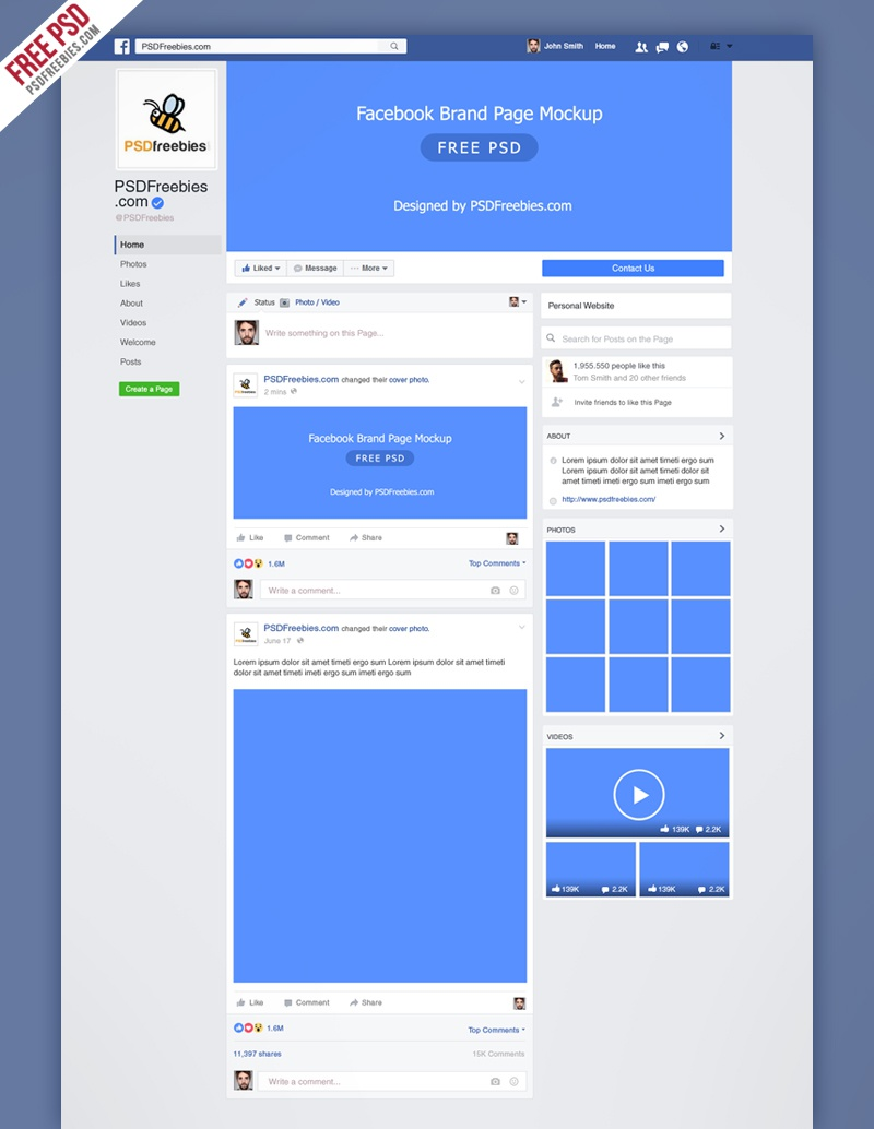 Dribbble - facebook-new-brand-page-2016-mockup-psd-preview jpg by