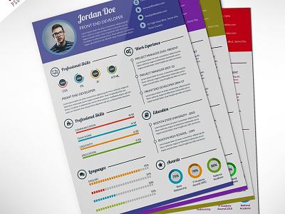 Freebie : Professional Resume CV Template Free PSD resume psd resume psd professional resume print template photo resume modern resume freebie free psd creative corporate clean resume