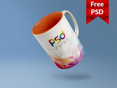 Freebie: Coffee Mug Mockup Free PSD