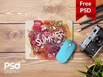 Freebie: Mouse Pad Mockup Free PSD graphics free print mockup mouse pad mockup psd branding mouse pad mockup freebie freepsd psd free psd mockup