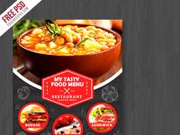 freebie restaurant food menu flyer free psd by psd freebies