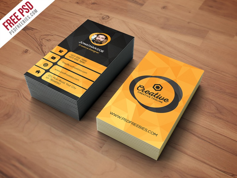 Freebie : Agency Business Card Template Free PSD by PSD Freebies ...