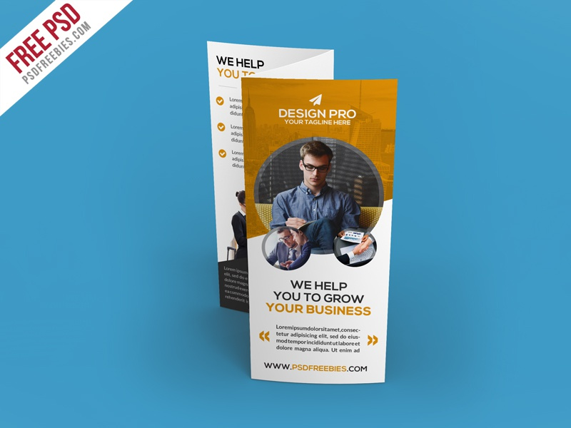 Free Psd Corporate Trifold Brochure Template Free Psd By Psd