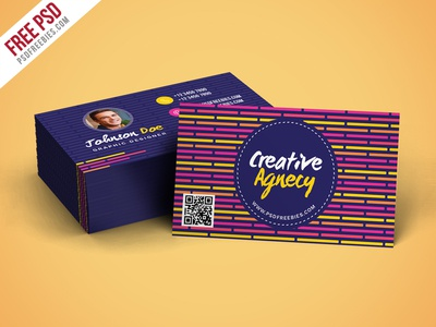 Free psd creative agency business card template psd by psd free psd creative agency business card template psd wajeb Images