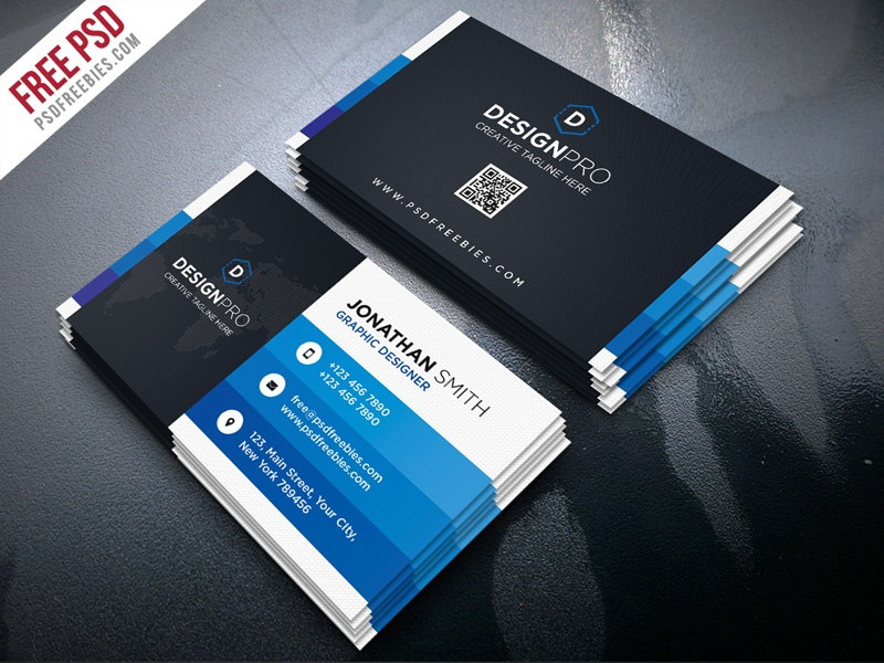 Free psd creative and modern business card psd bundle by psd creative and modern business card psd bundle colourmoves