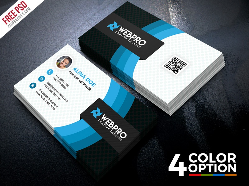Corporate business card free psd set by psd freebies dribbble corporate business card free psd set colourmoves