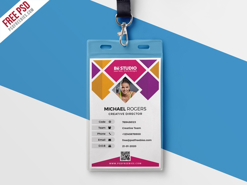 Psd Freebies  Tags  Id Card  Dribbble