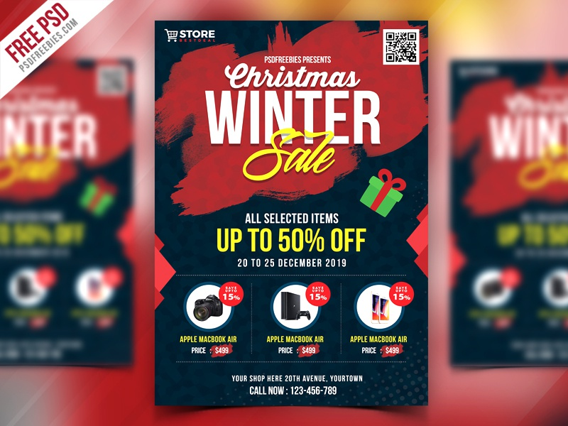 template for sale flyer
