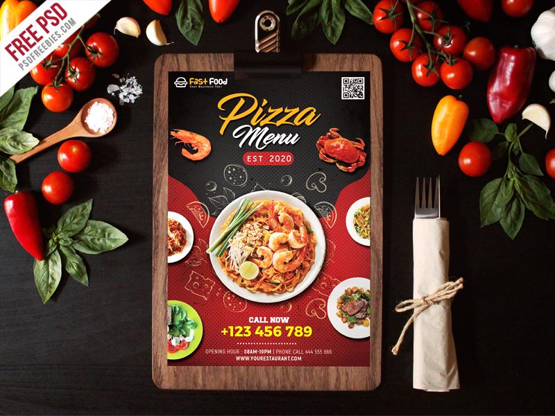 restaurant food menu free psd by psd freebies