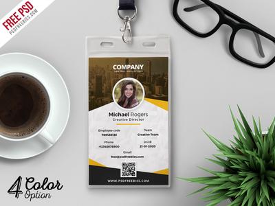 corporate identity card template psd bundlepsd freebies - dribbble, Powerpoint templates