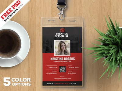 office card template