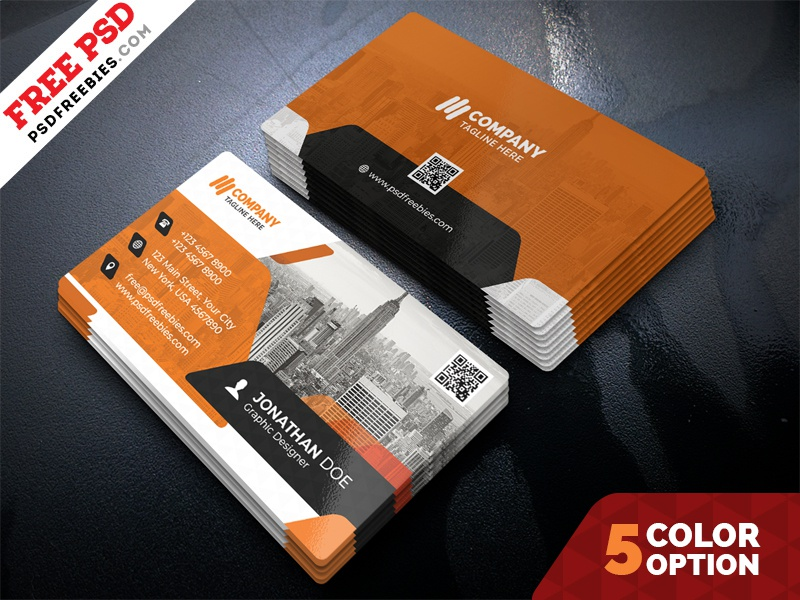 Free Business Cards Design PSD Bundle by PSD Freebies - Dribbble