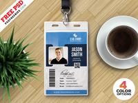 Identity Card Design Psd Templates Bundle