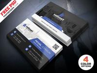 Free PSD : Business Card Design PSD Set