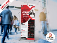 Corporate Roll-up Banner Design PSD Bundle