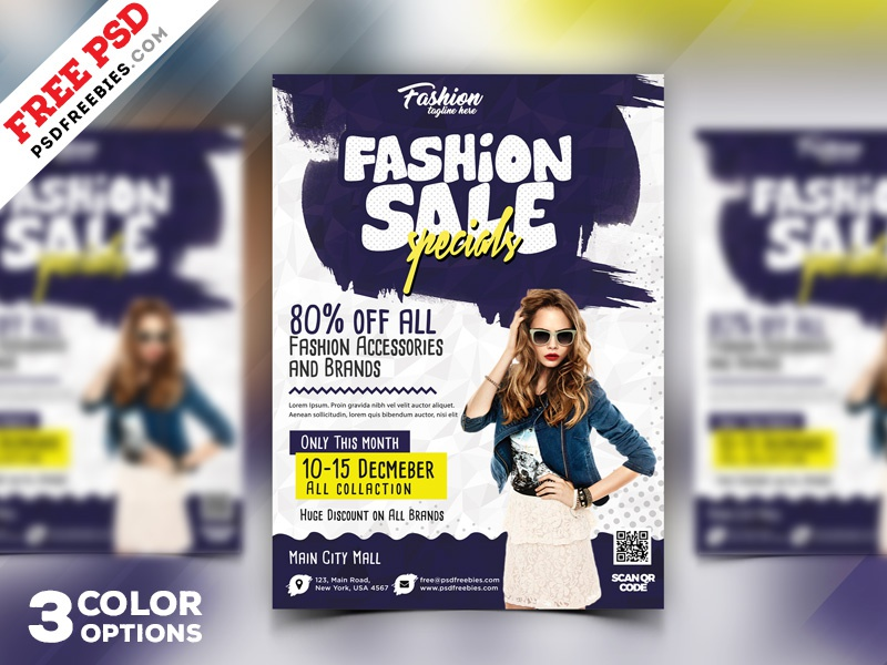 season sale flyer design psd bundle by psd freebies dribbble
