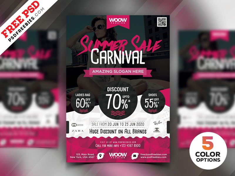 summer sale flyer design psd bundle by psd freebies dribbble