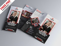 Tri-fold Brochure Design PSD Template