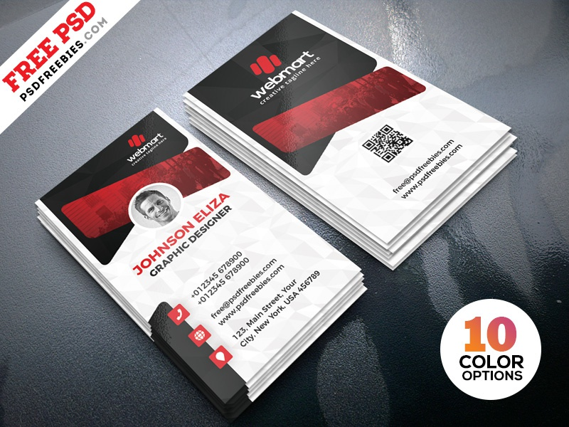 Creative business cards design psd by psd freebies dribbble creative business cards design psd reheart Images