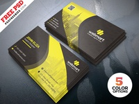Free Business Card Template PSD Set