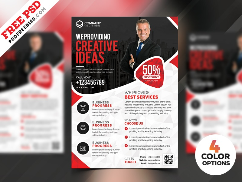 business marketing flyer templates psd by psd freebies dribbble