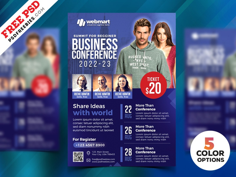Business Conference Flyer Psd Templates free psd psd freebie free download photoshop flyer flyer psd conference promotion flyer a4 flyer free design