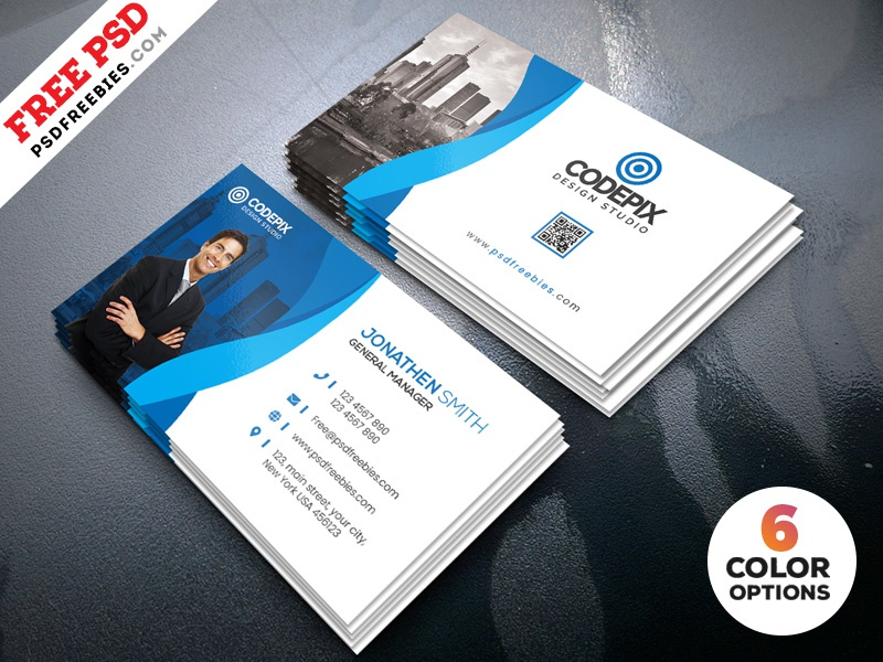 Business Card Bundle Psd Template By Psd Freebies Dribbble Dribbble