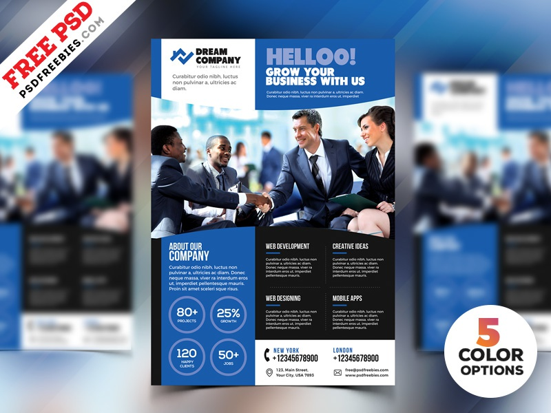promotional flyer templates free psd by psd freebies dribbble