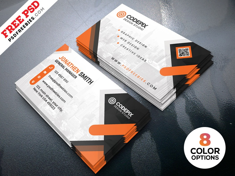 Business cards design templates psd by psd freebies dribbble business cards design templates psd fbccfo Images