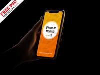 Free iPhone Xr Mockup PSD