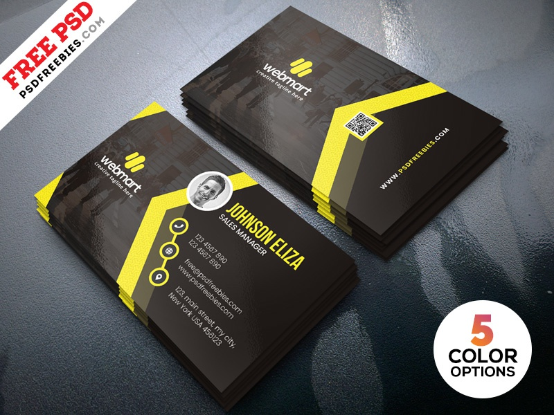 Modern business cards design templates psd by psd freebies dribbble modern business cards design templates psd friedricerecipe Gallery