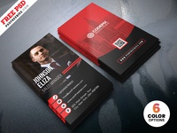 Modern Corporate Business Cards Design Psd