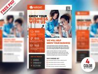 PSD Corporate Flyer Design Template