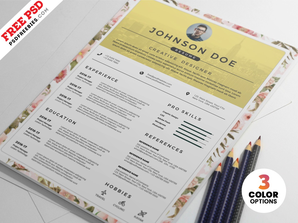 PSD Clean Resume CV Design Templates free resume resume clean cv design resume cv resume design resume print template download photoshop design free template psd template free freebie psd free psd