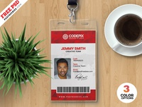 Creative Identity Card Design Template PSD