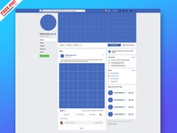 New Facebook Page Mockup 2019 PSD