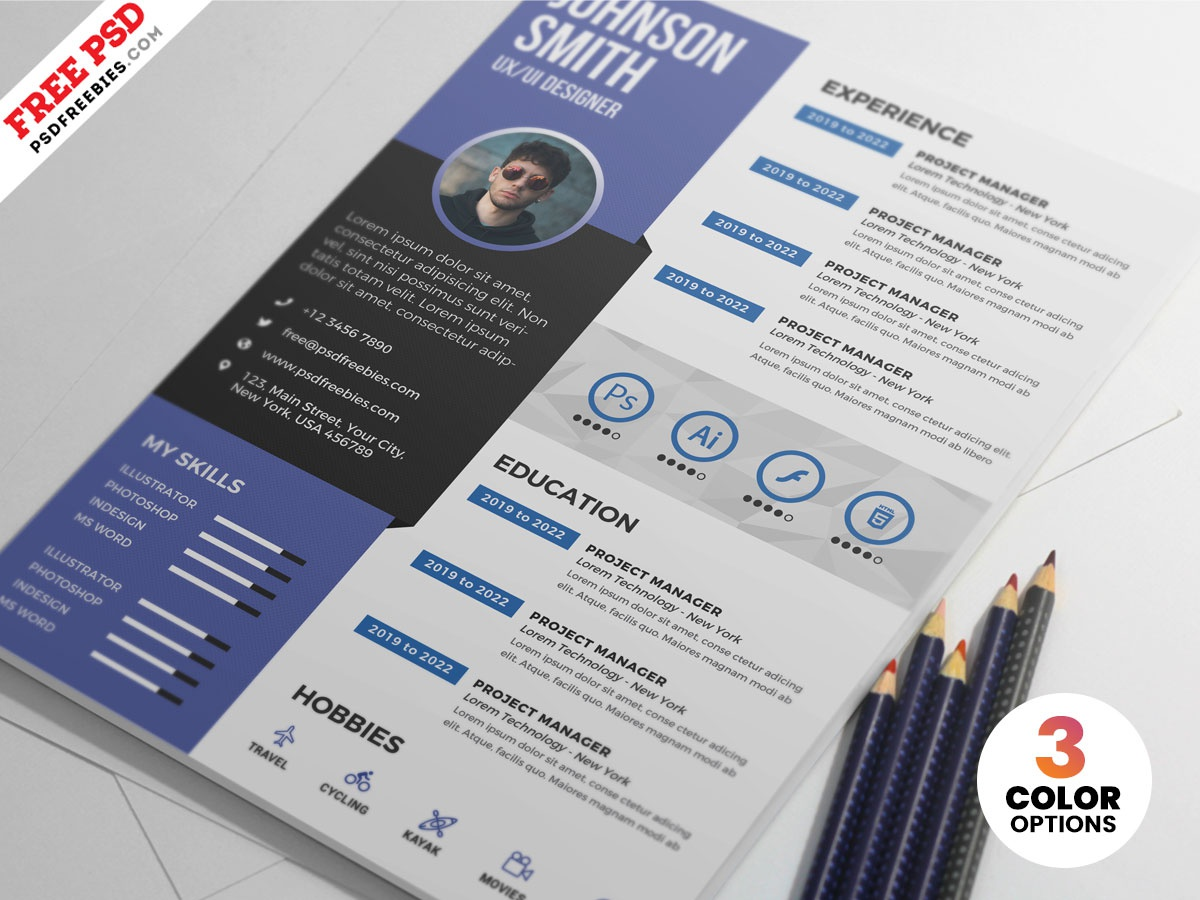 PSD Graphic Designer Resume Design designer cv resume psd creative resume resume design cv template resume template resume cv resume print download photoshop design free template psd template free freebie psd free psd