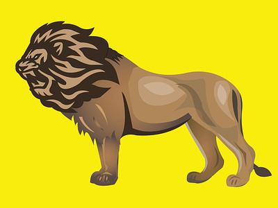 Lion . rate this logo animation ui professional logo design travel pet branding logo graphic design