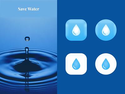 Daily UI #005 - Save Water uxui water app app icon app design challenge dailyui