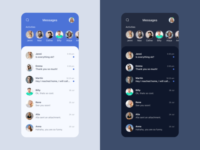 Daily UI #013 - Direct Messaging chat direct messaging messaging app chat app app design inspiration design challenge dailyui