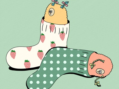 socks characterdesign artwork illustration