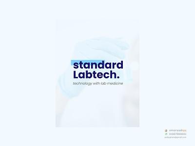 standard Labtech logo design brand logo minimal logo creative logo milimalist logo design logo