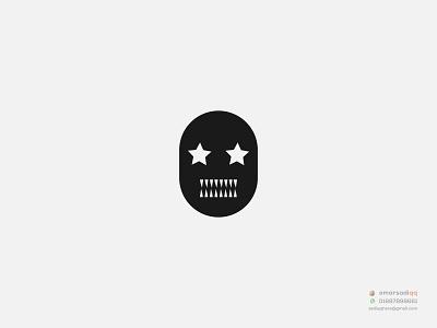 MON STAR minimal logo logo design concept flat milimalist logo design illustration