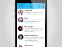 How twitter app would look on iOS7